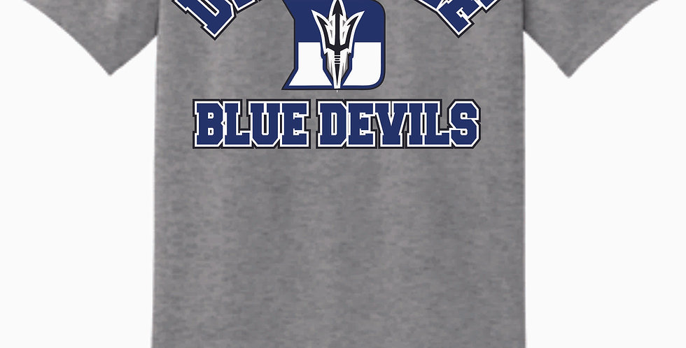 Danville Softball Grey Cotton T Shirt