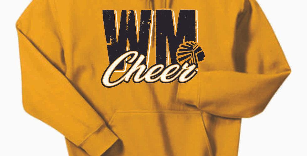 Watkins Cheer Gold Cotton Hoody