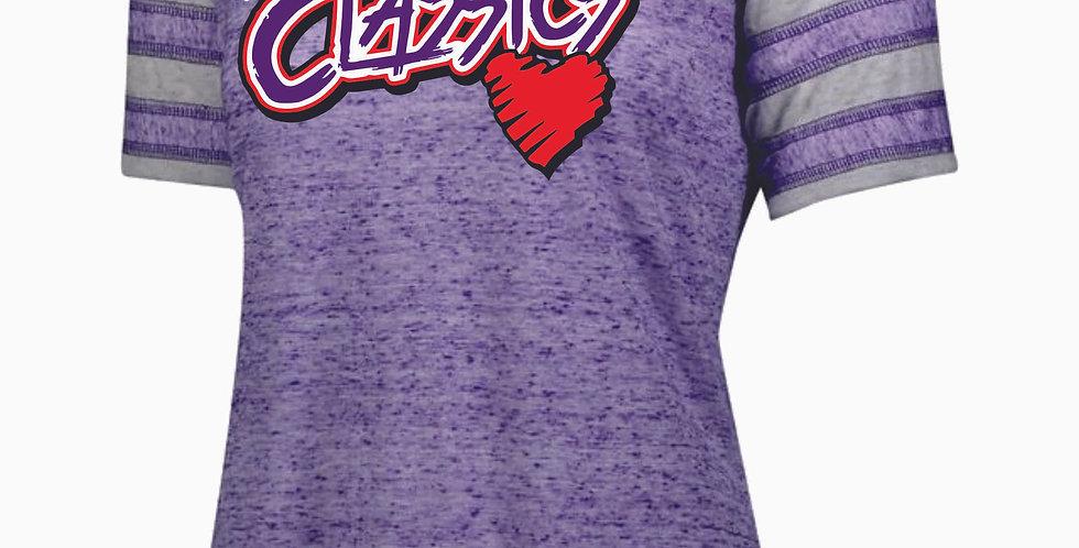 Ohio Classics Purple Womens Burnout