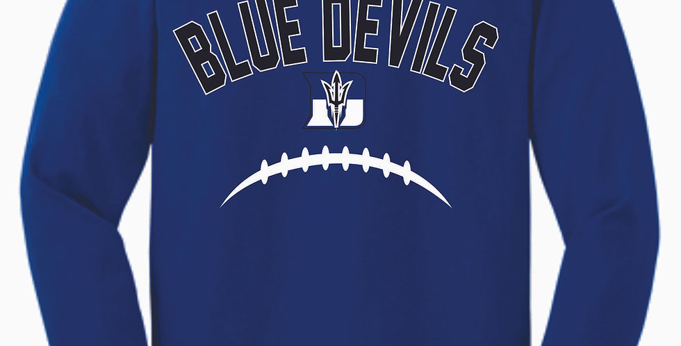 Danville Football Royal Cotton Longsleeve