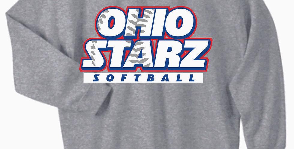 Ohio Starz Grey Cotton Crewneck