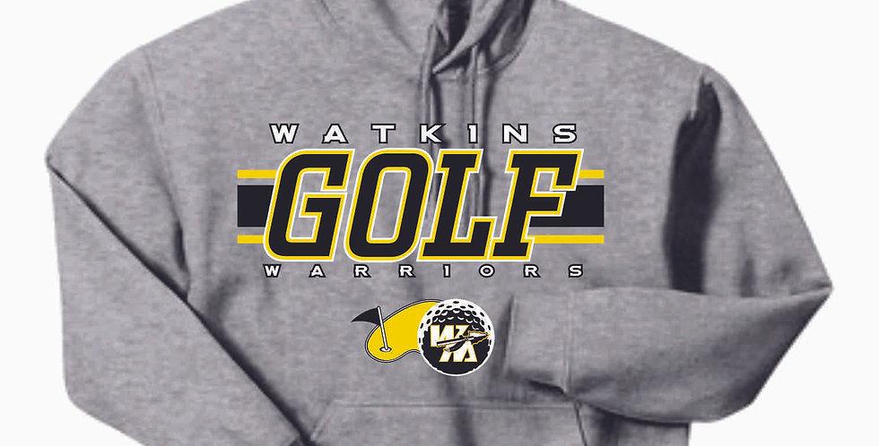 Watkins Golf Grey Cotton Hoody