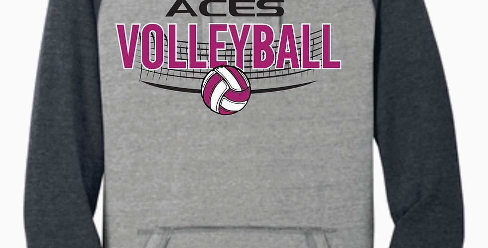 Aces Volleyball District Two Toned Hoody