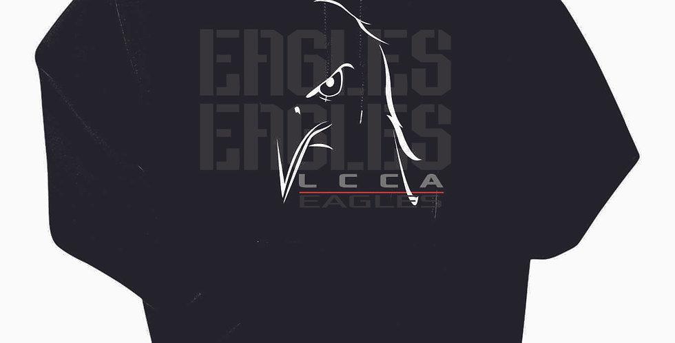 LCCA Black Eagles Cotton Hoody