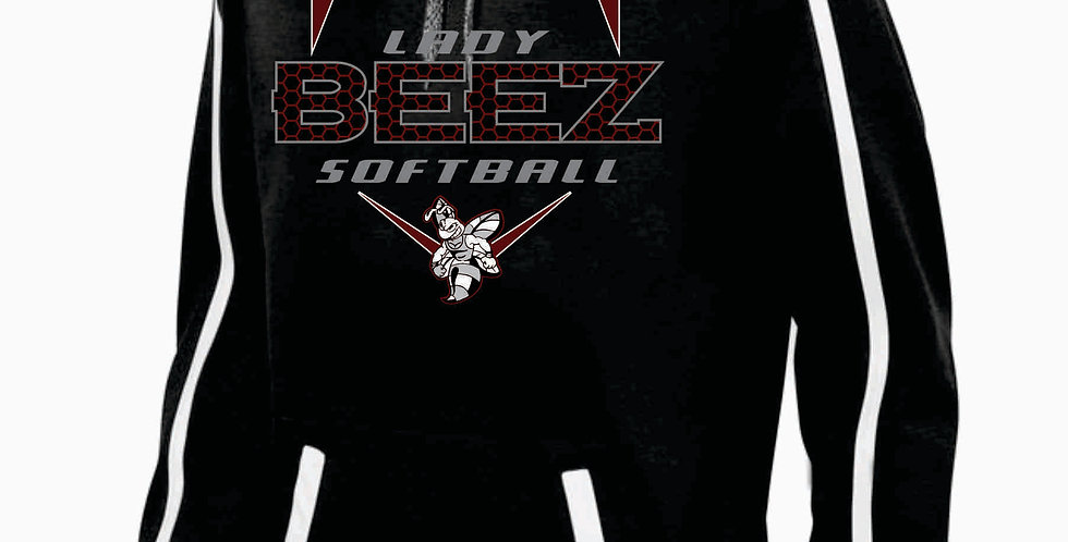 Lady Beez Black Poly Hoody