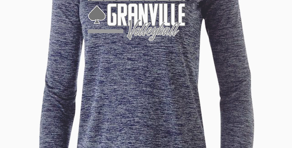 Granville Volleyball Navy Dri Fit Long Sleeve