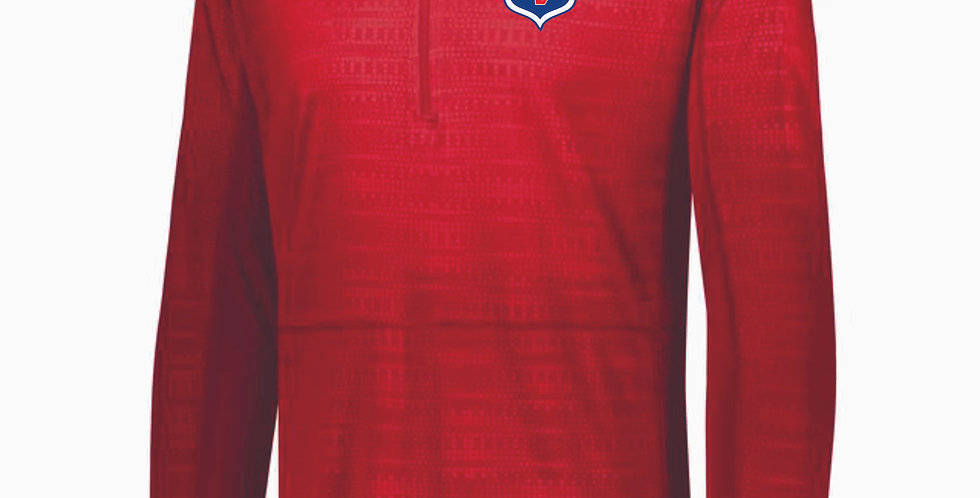 Licking Valley Track Red Pullover