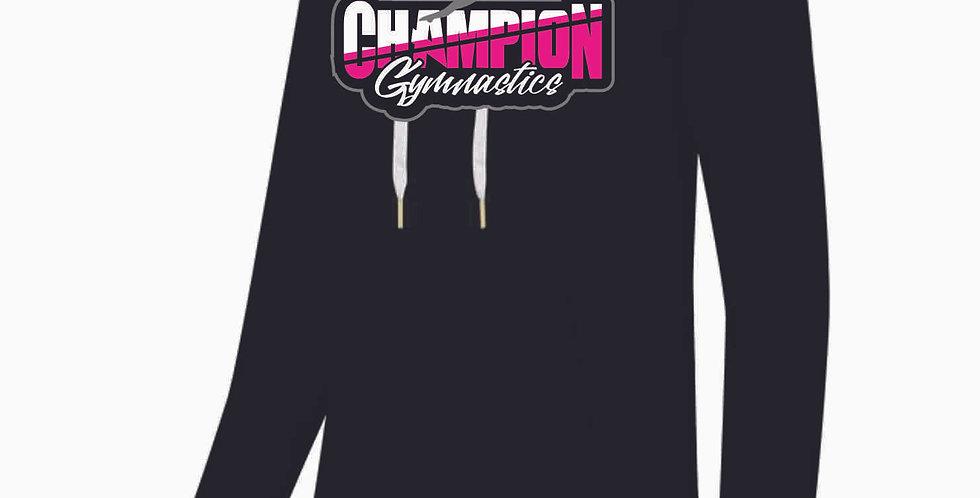 Champion Gymnastics Black Ladies Hoody
