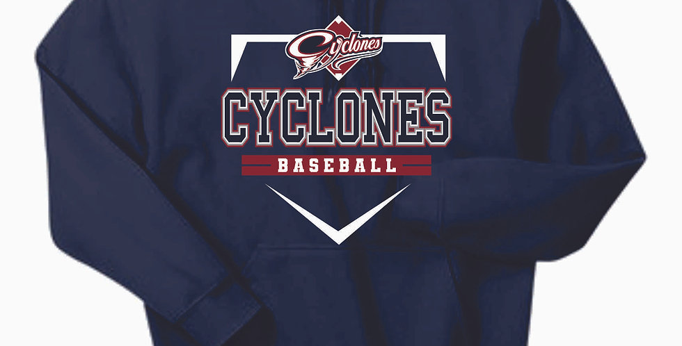 Cyclones Navy Cotton Hoody