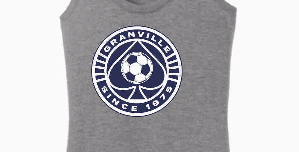 Granville Soccer Grey Women's Tank