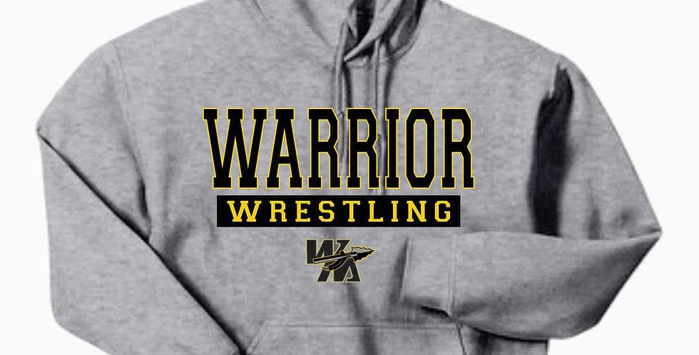 Watkins Youth Wrestling Gildan Cotton Grey Hoody