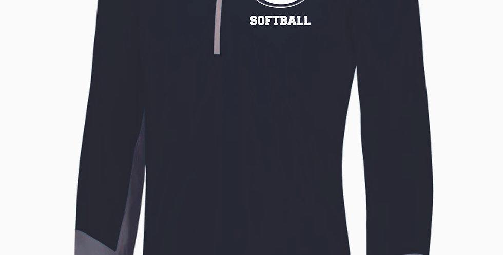 Granville Softball Navy Russell 1/4 Zip Pullover