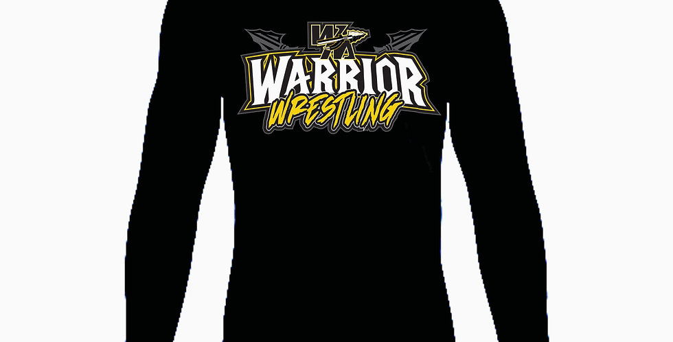 Watkins Youth Wrestling Under Armour Black Simple Dri Fit Longsleeve