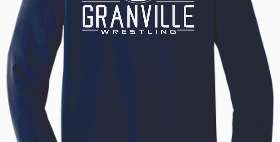 Granville Wrestling Navy Bella Soft Longsleeve