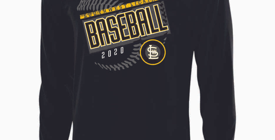SWL Baseball Black Longsleeve Dri Fit