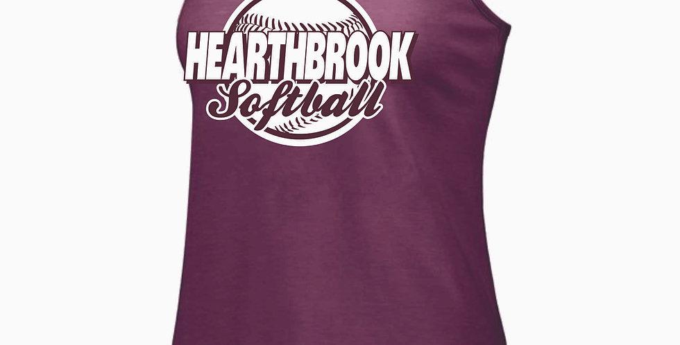 Newark Youth Softball Hearthbrook Maroon  Tank
