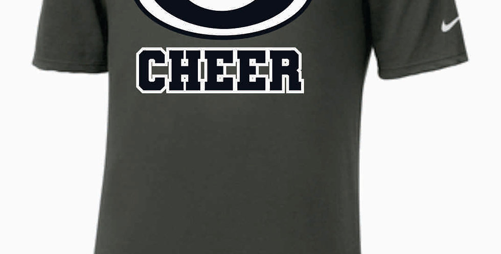 GHS Cheer Generic Grey Nike Dri-Fit Cotton/Poly T-Shirt