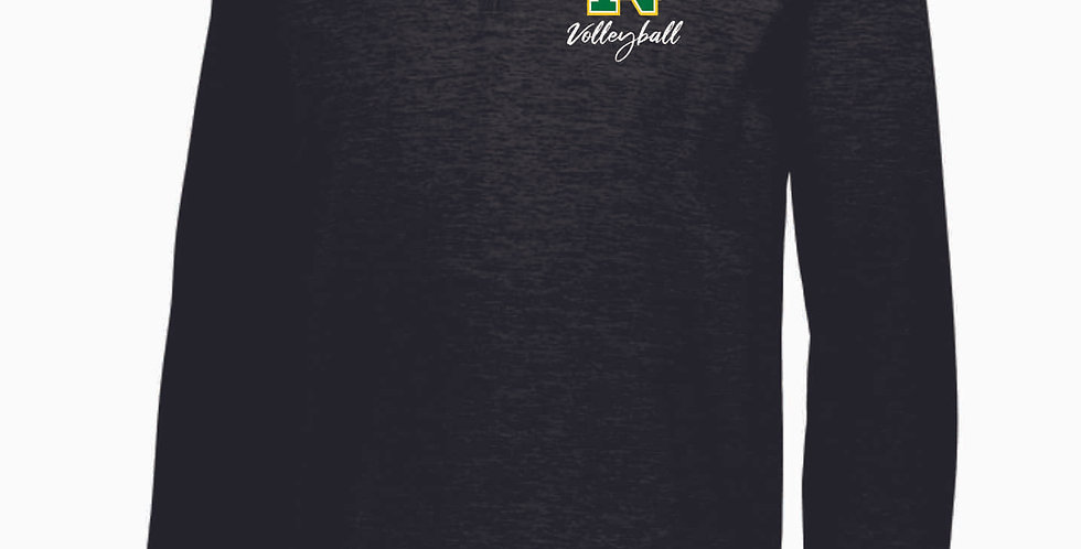 NC Volleyball Black Poly Pullover