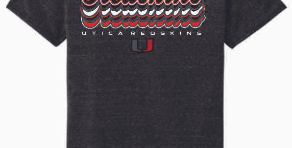 "Utica ""Script"" Black Soft T-Shirt"