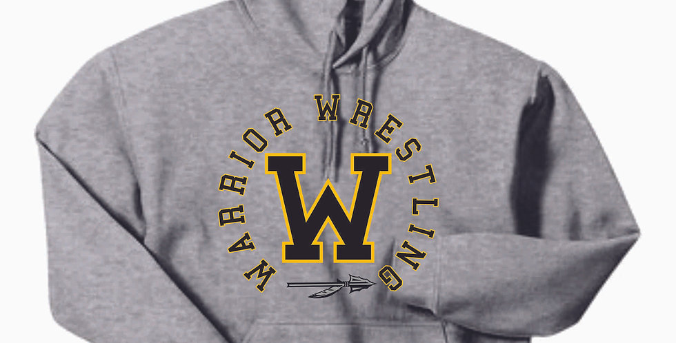 Watkins Youth Wrestling Grey Hoody
