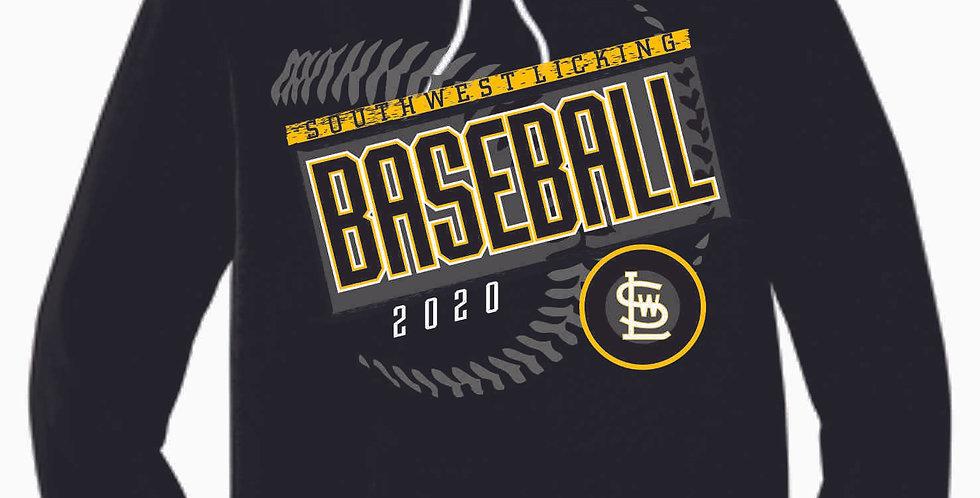 SWL Baseball Black Soft Cotton Hood