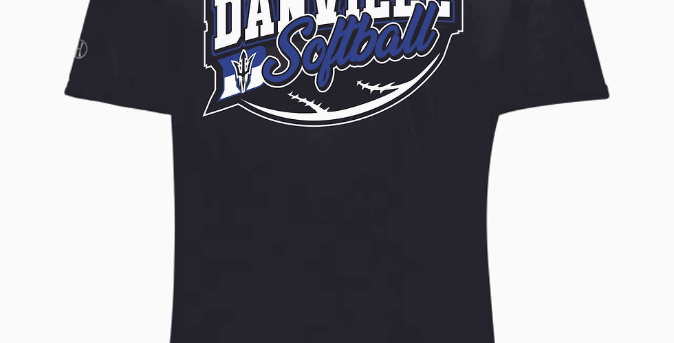 Danville Softball Black Shortsleeve Dri Fit