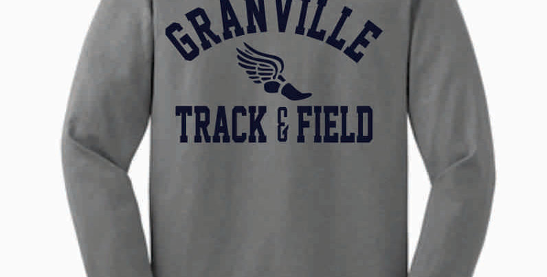 Granville Track and Field Grey Longsleeve