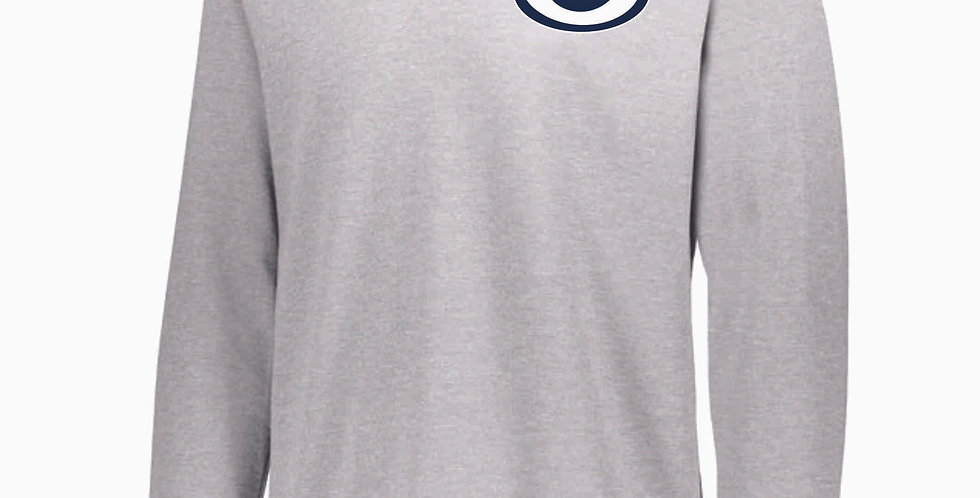 Granville Blue Aces Grey Cotton Pullover