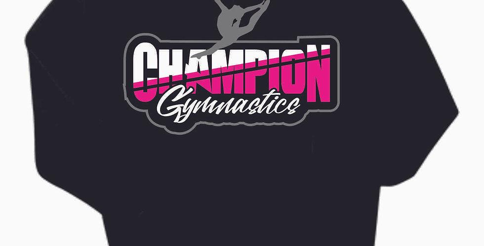 Champion Gymnastics Black Cotton Hoody