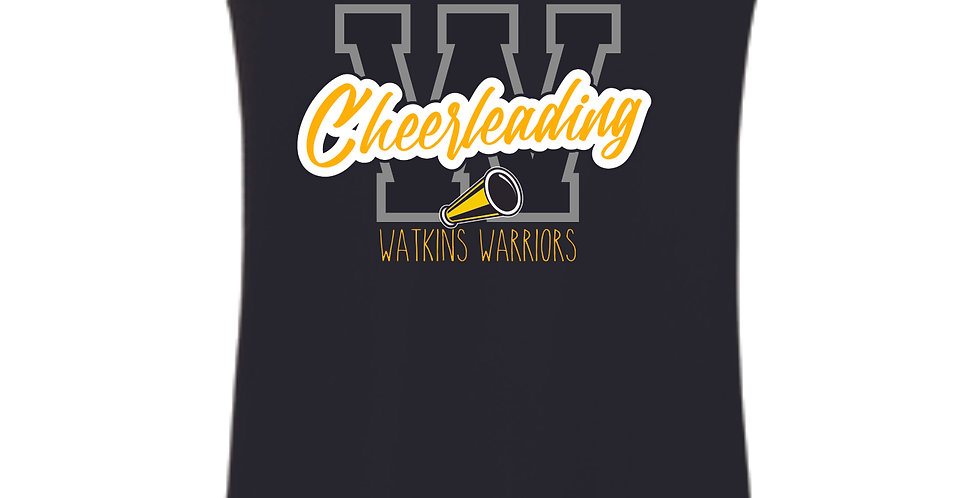 Watkins Cheer Black Women's Tank