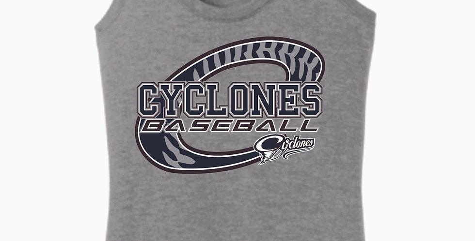 Cyclones Grey C Women's Tank