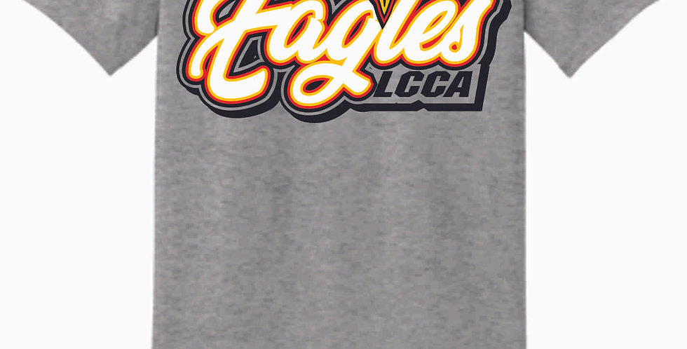 LCCA Grey Eagles Cotton T Shirt