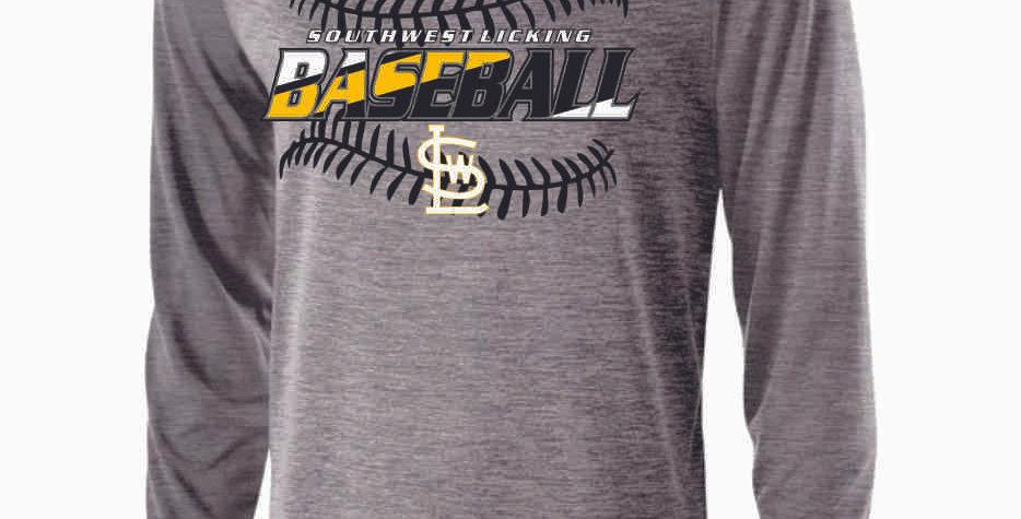 SWL Baseball Grey Longsleeve Dri Fit