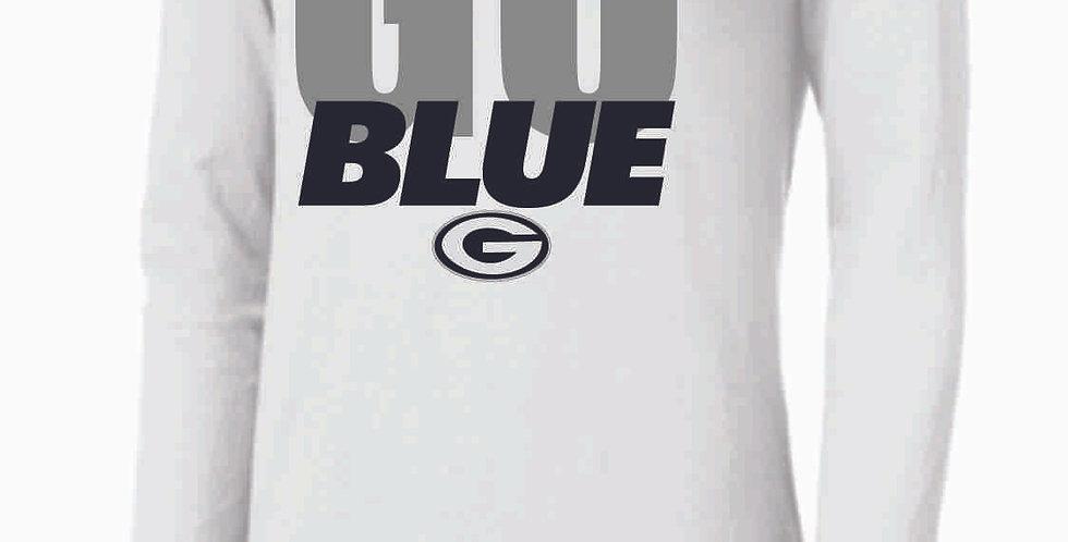 Go Blue White Nike Longsleeve