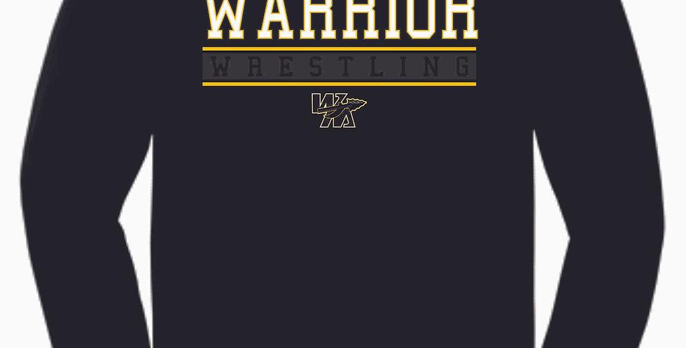 Watkins Youth Wrestling Black Cotton Longsleeve Tee