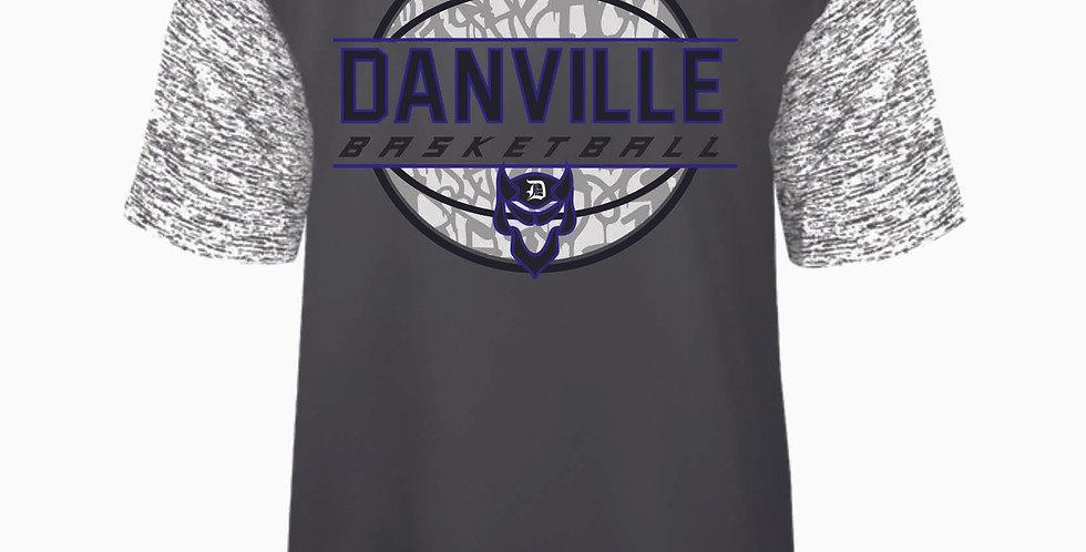 Danville Basketball Grey Dri Fit Shortsleeve Tee