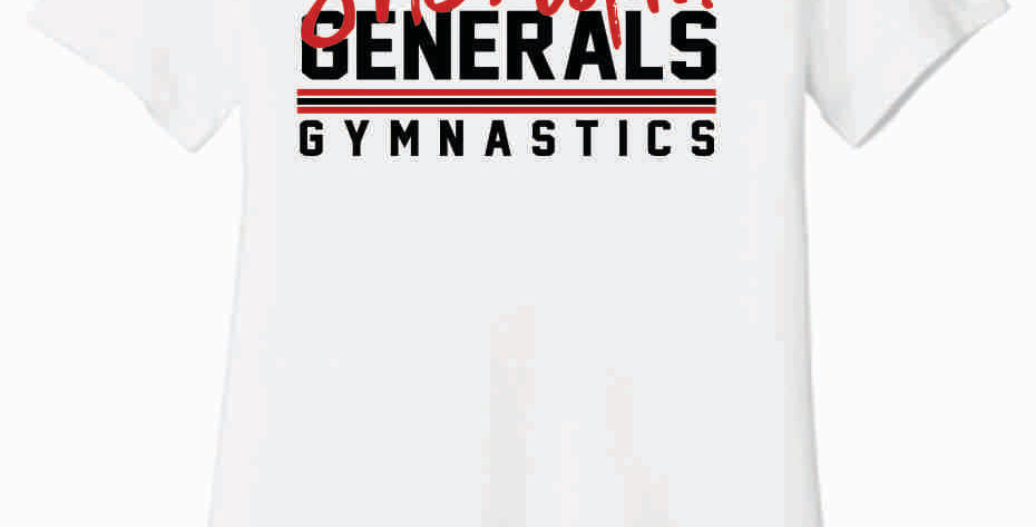 Sheridan Gymnastics Bella Soft White Women's T Shirt
