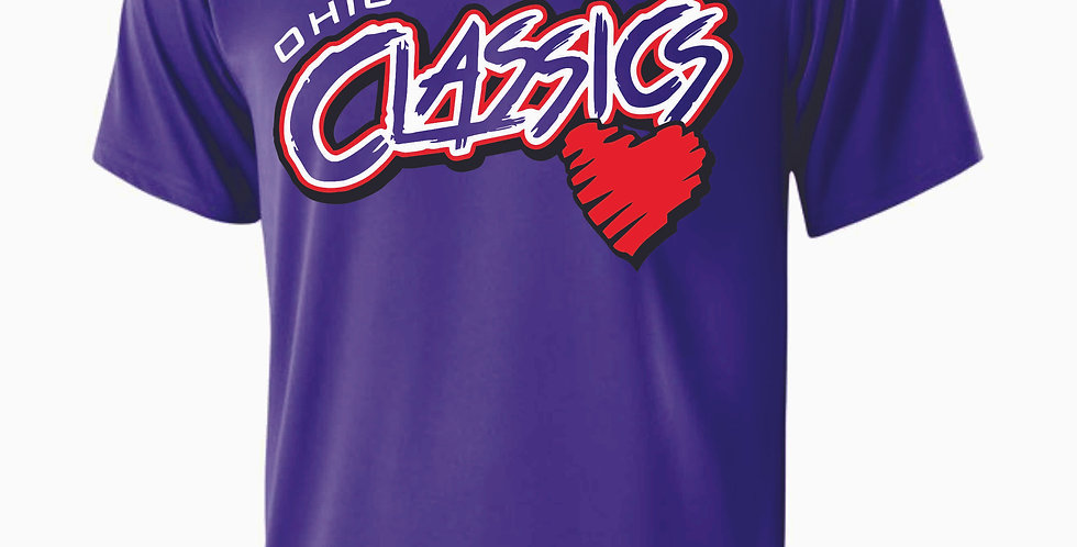 Ohio Classics Purple Shortsleeve Dri Fit