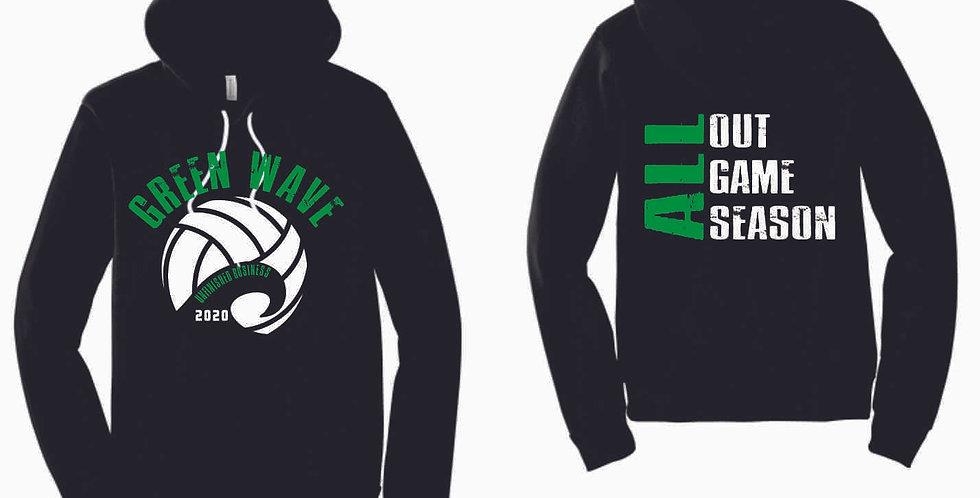 NC Volleyball Black 2020 Soft Hoody