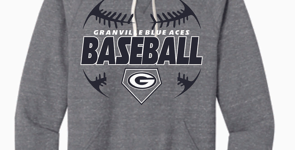 Granville Baseball Snow Heather Hood