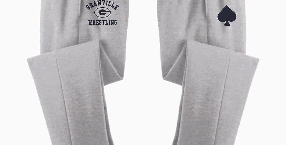 Granville Wrestling Grey Cotton Sweatpant
