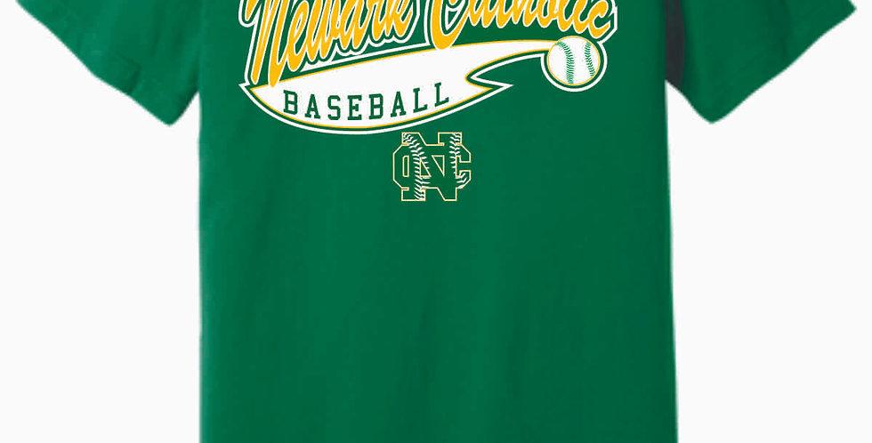 Newark Catholic Baseball Kelly Green Soft T Shirt