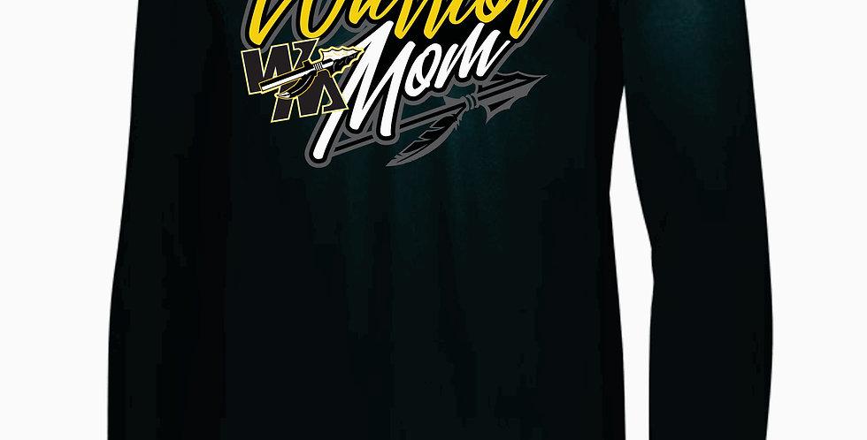 Watkins Youth Wrestling Mom Black Dri Fit Longsleeve