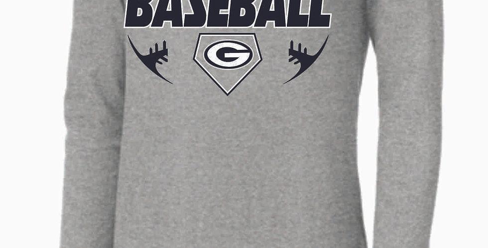 Granville Baseball Grey Nike Longsleeve