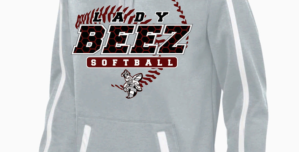 Lady Beez Grey Poly Hoody