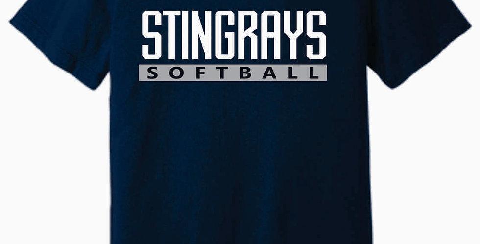 Rays Navy Soft T Shirt