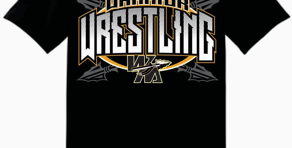 Watkins Youth Wrestling Gildan Cotton Black T Shirt
