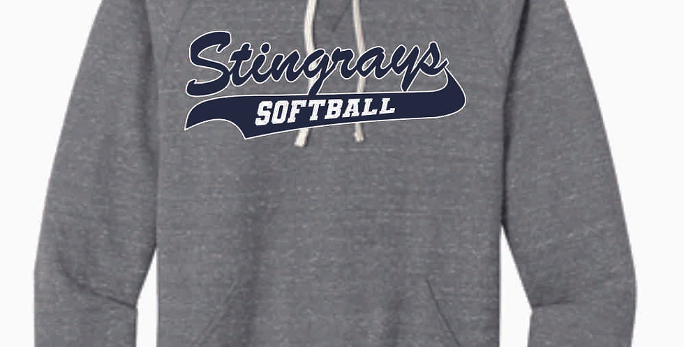 Stingrays Grey Soft Vintage Hood