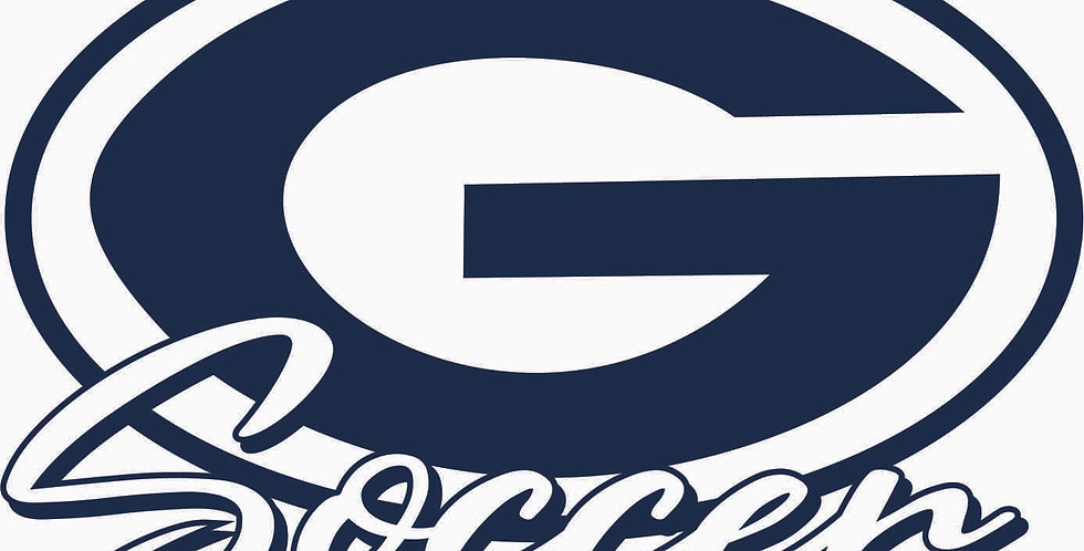 Granville Soccer G Logo Window Decal