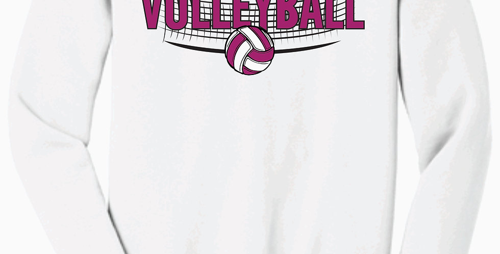 Aces Volleyball Gildan White Cotton Longsleeve